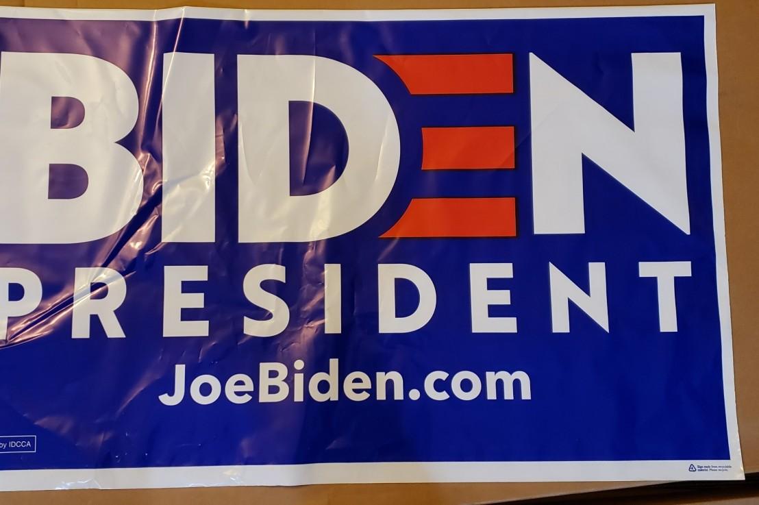 Biden 2020 Yard SignFundraiser